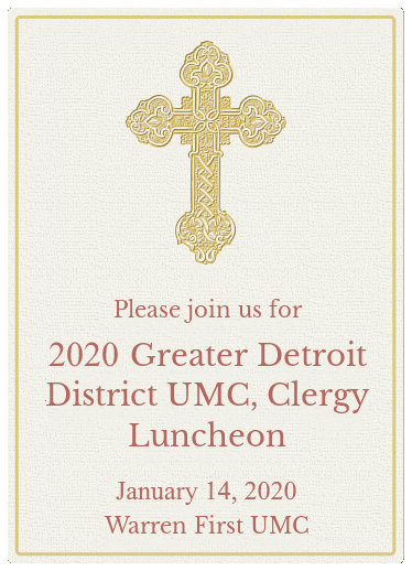 Clergy and Leader Luncheon 2020